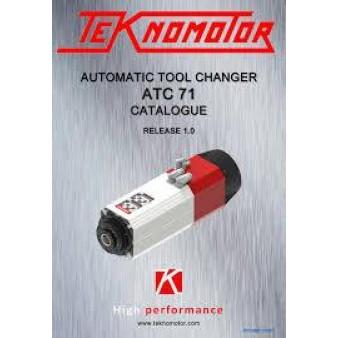 Шпиндель Teknomotor ATC71-B-LN-ISO30 ER32 5,5/6,6 kW 12000-24000RPM