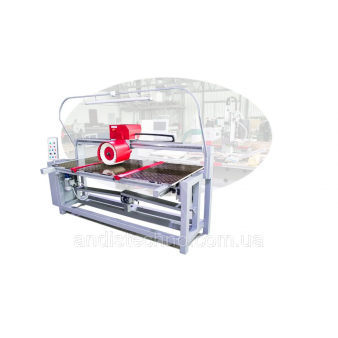 Полірувально-шліфувальний верстат для фарбованих виробів